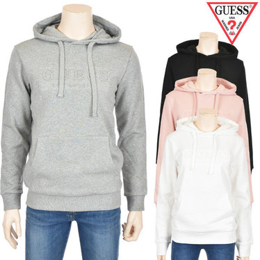 게스 남여공용 엠보 GUESS LOS ANGELES HOODY(MI1K9400)