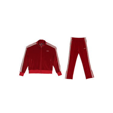 NERDY  Velour Track SET Burgundy