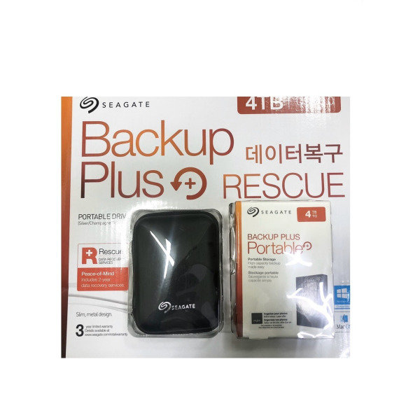 JH7 씨게이트 New Backup Plus Portable +Rescue 4TB